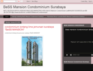 bessmansioncondominiumsurabaya.blogspot.co.id screenshot