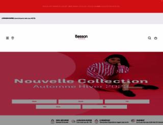 besson-chaussures.com screenshot