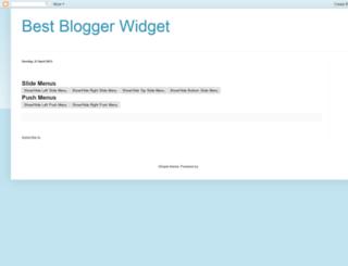best-blogger-widgets.blogspot.in screenshot