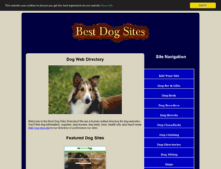 best-dog-sites.com screenshot