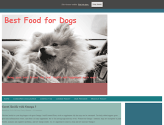 best-food-for-dogs.com screenshot
