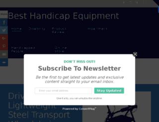 best-handicap-equipment.net screenshot