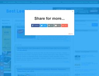 best-leeching-site.blogspot.com screenshot