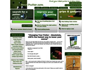 best-putter.com screenshot
