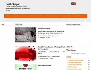 best-shayari.blogspot.com screenshot