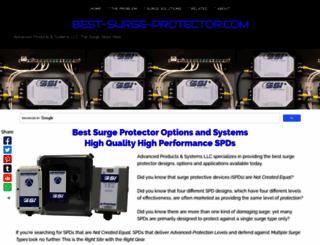 best-surge-protector.com screenshot