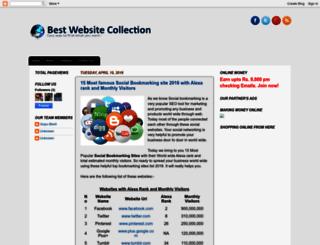 best-website-collection.blogspot.com screenshot