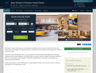 best-western-dante.hotel-rez.com screenshot