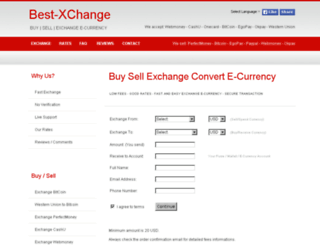best-xchange.com screenshot