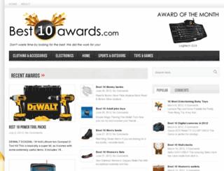 best10awards.com screenshot