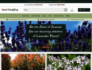best4hedging.co.uk screenshot