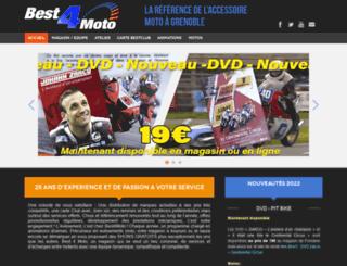 best4moto-38.fr screenshot