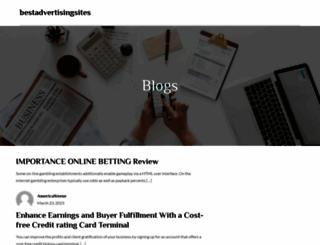 bestadvertisingsites.com screenshot