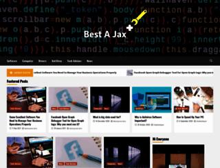 bestajaxscripts.com screenshot