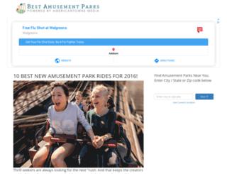 bestamusementparks.org screenshot