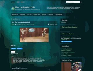 bestanimatedgifs.wordpress.com screenshot
