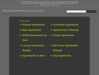 bestapartmentscracow.com screenshot