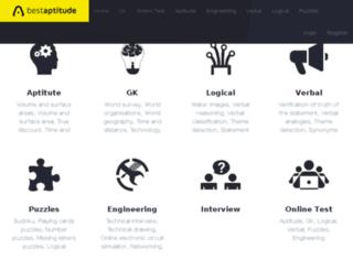 bestaptitude.com screenshot