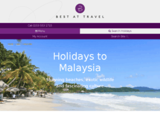 bestatmalaysiaholidays.co.uk screenshot