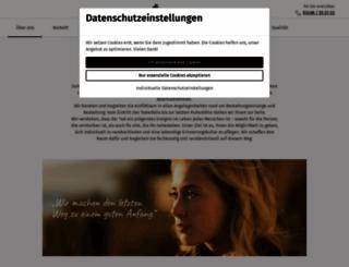 bestatter-koethen.de screenshot