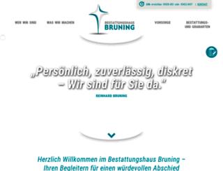 bestattungshaus-bruning.de screenshot