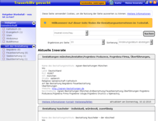 bestattungsunternehmen-gesucht.de screenshot