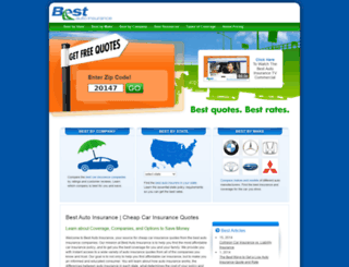 bestautoinsurance.com screenshot