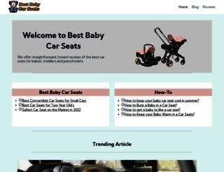 bestbabycarseatsreviews.net screenshot