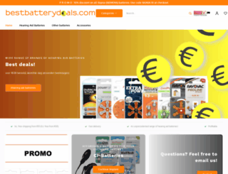 bestbatterydeals.com screenshot