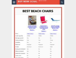 bestbeachchair.org screenshot