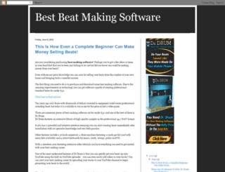bestbeatmakingsoftwaretoday.blogspot.com screenshot