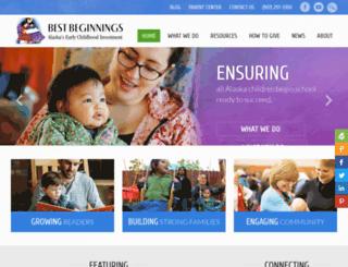 bestbeginningsalaska.org screenshot