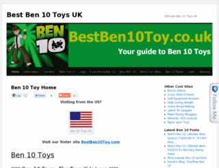 bestben10toy.co.uk screenshot