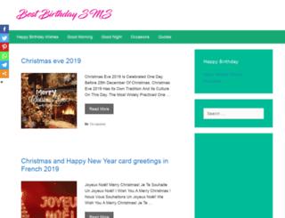 bestbirthdaysms.com screenshot