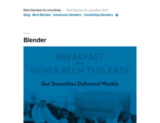 bestblenderforsmoothieshq.com screenshot