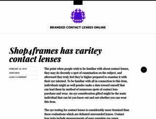 bestbrandedcontactlensesonline.wordpress.com screenshot