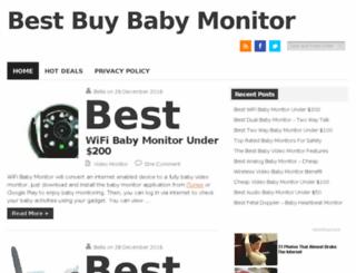 bestbuybabymonitor.com screenshot