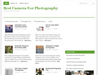 bestcameraforphotography.org screenshot