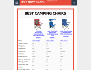 bestcampingchair.net screenshot