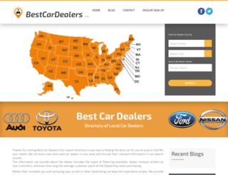 bestcardealers.com screenshot