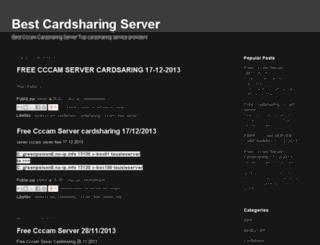 bestcardsharing.com screenshot