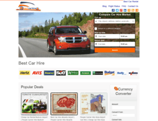 bestcarhire.com screenshot