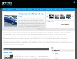bestcarsbuyersguide.com screenshot