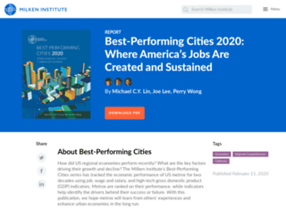 bestcities.milkeninstitute.org screenshot