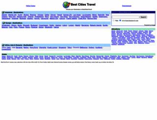 bestcitiestravel.com screenshot