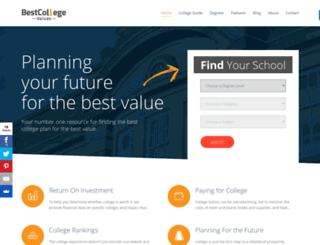bestcollegevalues.org screenshot