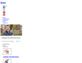 bestcoloringpages.com screenshot