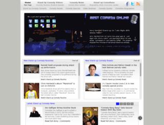 bestcomedyonline.com screenshot