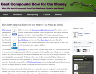 bestcompoundbowforthemoney.com screenshot