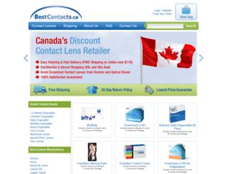 bestcontacts.ca screenshot